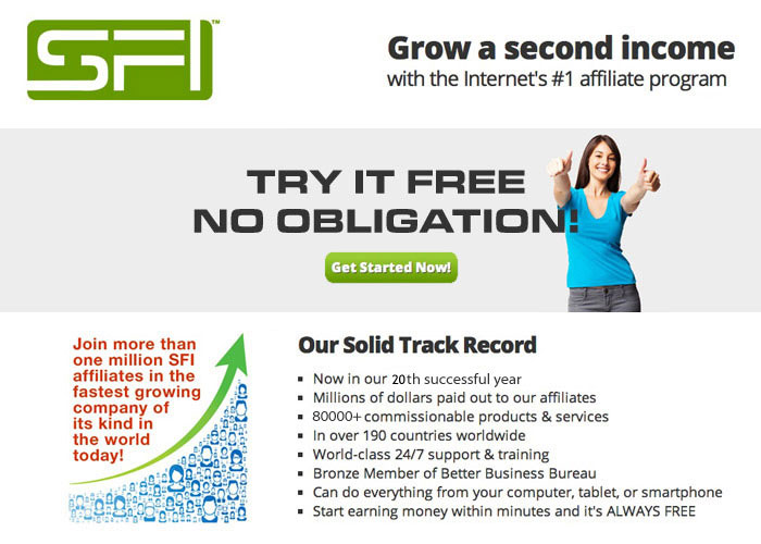 Network Marketing is BOOMING on the Web! Learn how we're sponsoring OVER 30,000 monthly worldwide without mailing anything, without faxing anything, without calling anyone! Totally Internet and system-driven and we've only scratched the surface. Get started FREE! Sign up as an affiliate at: www.sfi4.com/17025258/FREE Then watch the explosion before your eyes. NO OBLIGATION.