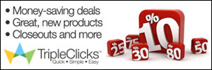 Shopping Online with TripleClicks